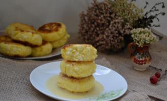 Рецепт сырников из творога с манкой без муки