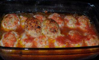 гречаники рецепт с фаршем в томатном соусе в духовке