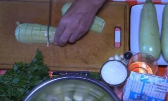 маринованные кабачки хрустящие на зиму
