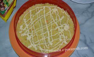 селедка под шубой с картофелем