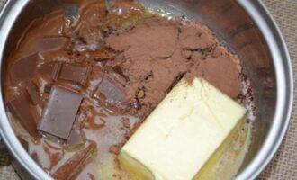шоколадная колбаска со сгущенкой и какао