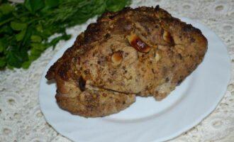 Буженина из свинины в фольге в духовке с горчицей и чесноком