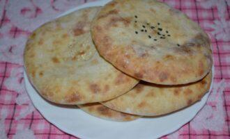 Лепешки на кефире без дрожжей в духовке вместо хлеба