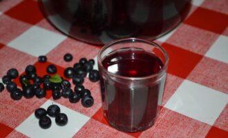 Черничный ликер на водке