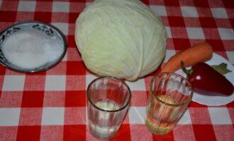 Маринованная капуста Провансаль быстрого приготовления