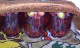 Компот из вишни и яблок на зиму