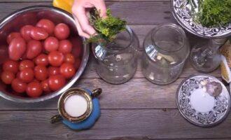 маринованные помидоры на зиму в 1.5 литровых банках
