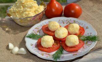 сыр с чесноком и майонезом рецепт
