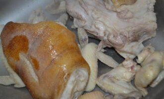 Холодец из свиной рульки и курицы