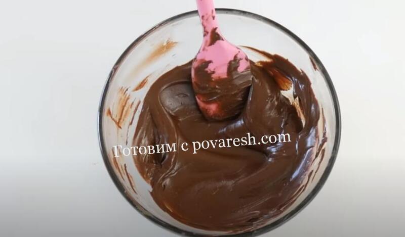 Рецепт глазури из шоколада в домашних условиях
