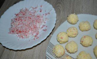 Крабовые шарики с сыром рафаэлло