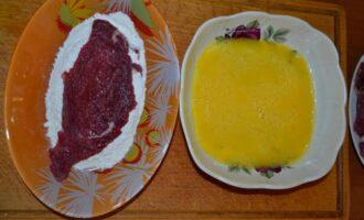 Отбивные из говядины на сковороде