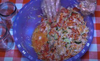 Салат из капусты на зиму в банках