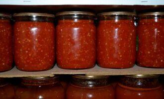Вареная аджика из помидоров и болгарского перца на зиму