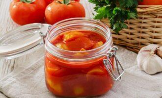 Лечо с томатным соком на зиму из болгарского перца