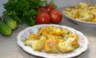 как приготовить цветную капусту в кляре простой рецепт