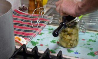 Маринованные кабачки как грузди на зиму