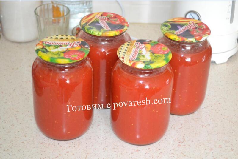 Томатный сок блендером в домашних условиях на зиму