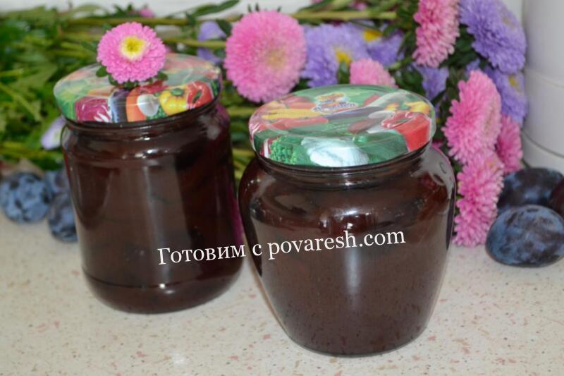 слива в шоколаде на зиму простой рецепт