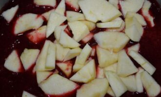 Повидло из слив и яблок
