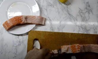 Как солить красную рыбу с лимоном в домашних условиях