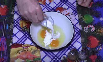 Яичные блинчики для салата