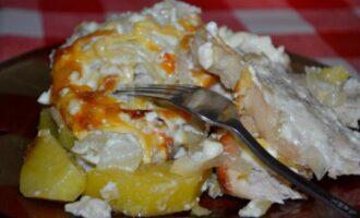 индейка по французски в духовке с картошкой