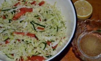 салат из пекинской капусты без майонеза