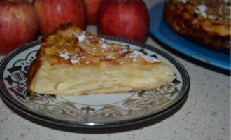 Французский яблочный пирог невидимый