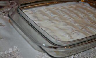 Блинчики с творогом в духовке со сметаной