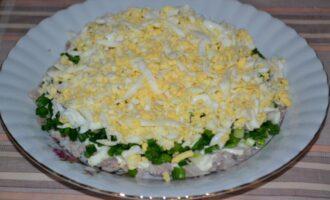 отварные тертые яйца