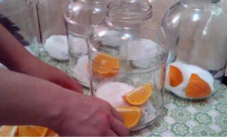 Березовый сок с апельсином и лимоном