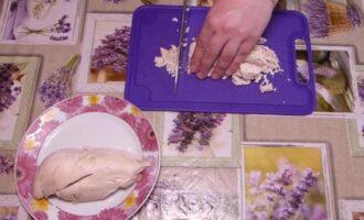 салат восьмерка на 8 марта с курицей