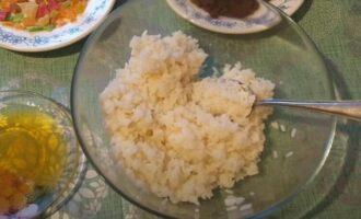 кутья из риса с цукатами и изюмом