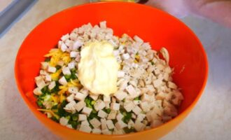 салат пасхальный кулич