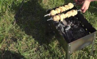 шашлык из куриного филе с кефиром