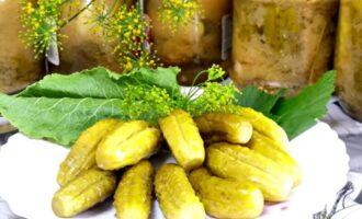 Огурцы в горчичной заливке на зиму без стерилизации