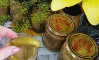 Огурцы в горчичной заливке на зиму