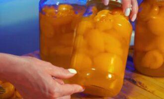 абрикосы в сиропе на зиму половинками