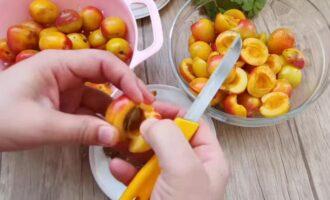 компот из абрикос и апельсин на зиму