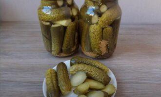 огурцы с семенами горчицы на зиму