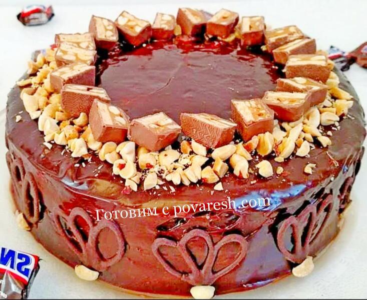 торт из овсяного печенья без выпечки