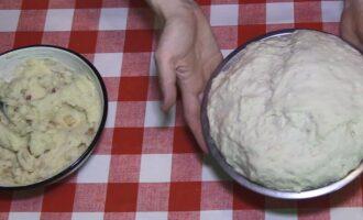 пирожки с картошкой на сковороде на сухих дрожжах