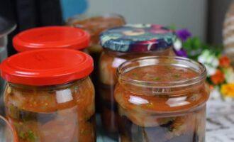 Обалденный рецепт жареных баклажанов в аджике на зиму