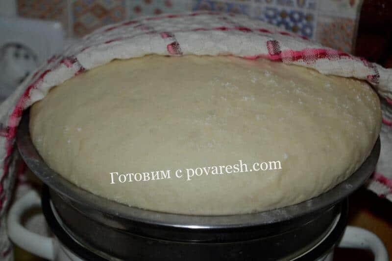 Тесто для пирожков на молоке с живыми дрожжами