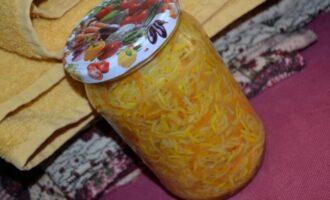 кабачки по-корейски на зиму с приправой для корейской моркови