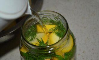 кабачки с лимонной кислотой на зиму