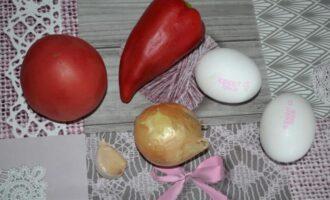 Израильская яичница с овощами Шакшука