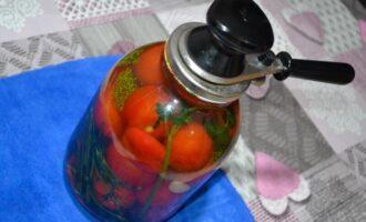 Маринованные помидоры в 3 литровых банках на зиму