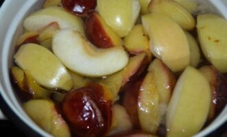 компот из слив груш и яблок